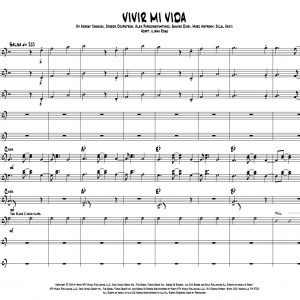 Vivir Mi Vida for High Brass Ensemble