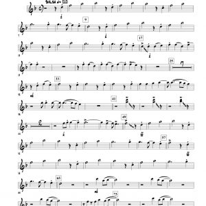Vivir Mi Vida for High Brass Ensemble