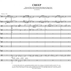 Creep- Sax Choir