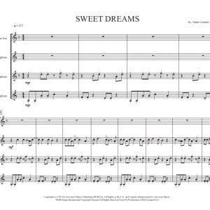 Sweet Dreams- Sax Quartet