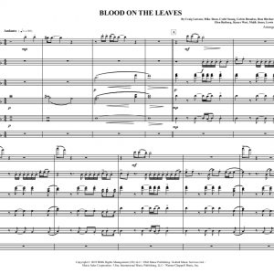 Blood on the Leaves- Low Brass