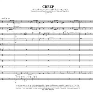 Creep- Sax Choir