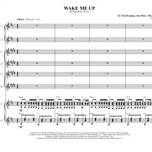 Wake Me Up- Woodwind Ensemble