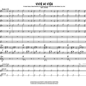 Vivir Mi Vida for Jazz Band